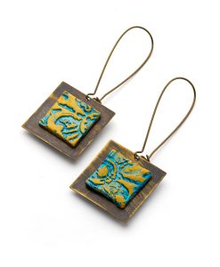 Isabelle Square Dangle Earrings