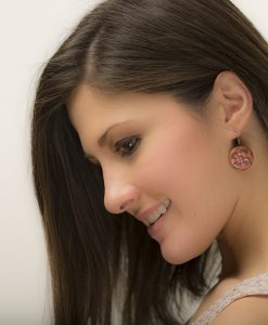 Jennings Circle Earrings Model