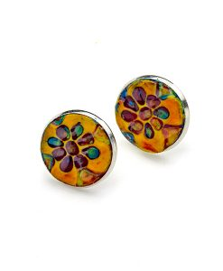 Josette Circle Large Stud Earrings