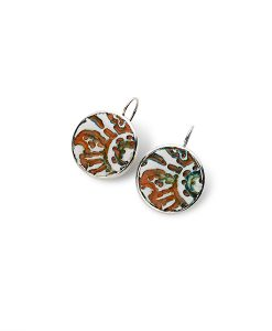Sahara Circle Frenchback Earrings