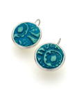 Alessa Circle Frenchback Earrings