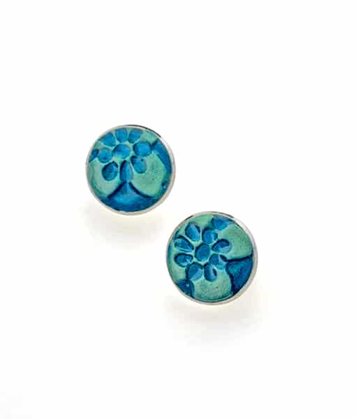 Alessa Circle Large Stud Earrings