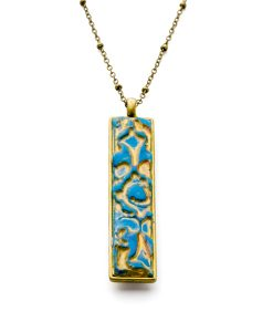Arden Rectangular Chain Necklace