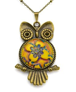 Josette Owl Chain Necklace