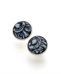 Kaya Circle Large Stud Earrings