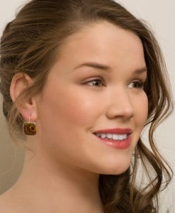 Madison Frenchback Earrings Model