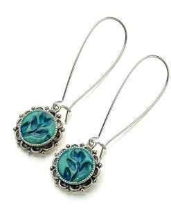 Alina Ornate Dangle Earrings