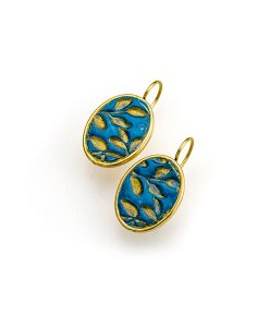 Florence Oval Frenchback Earrings