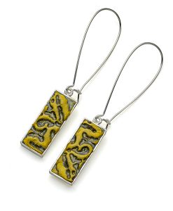 Sydney Rectangular Dangle Earrings