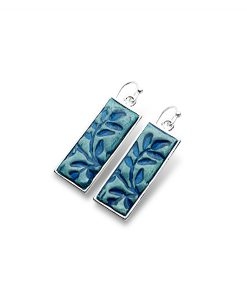 Alina Rectangular Frenchback Earrings