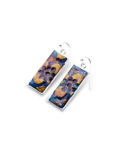 Josette Rectangular Frenchback Earrings