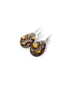 Savannah Teardrop Leverback Earrings