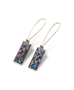 Adelaide Rectangular Dangle Earrings
