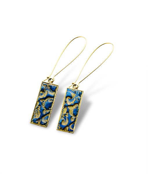 Arden Rectangular Dangle Earrings