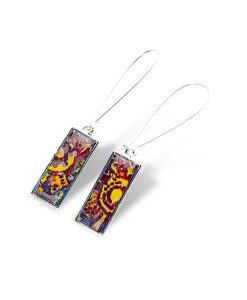 Raleigh Rectangular Dangle Earrings